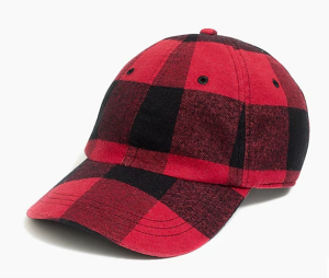 Plaid Hat J. Crew