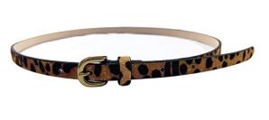 Leopard Print Belt Slim