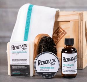 Beard Grooming Product Box