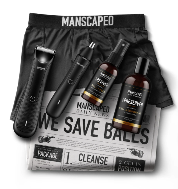 The Performance Package by Manscaped; how to manscape