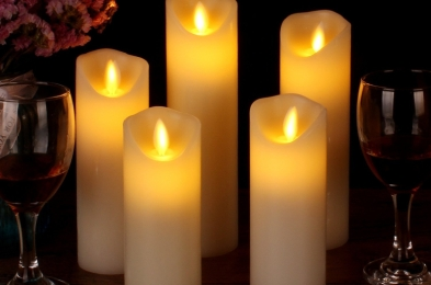 Vinkor Flameless Candles Battery
