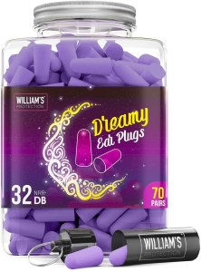 best earplugs for sleeping williams protection