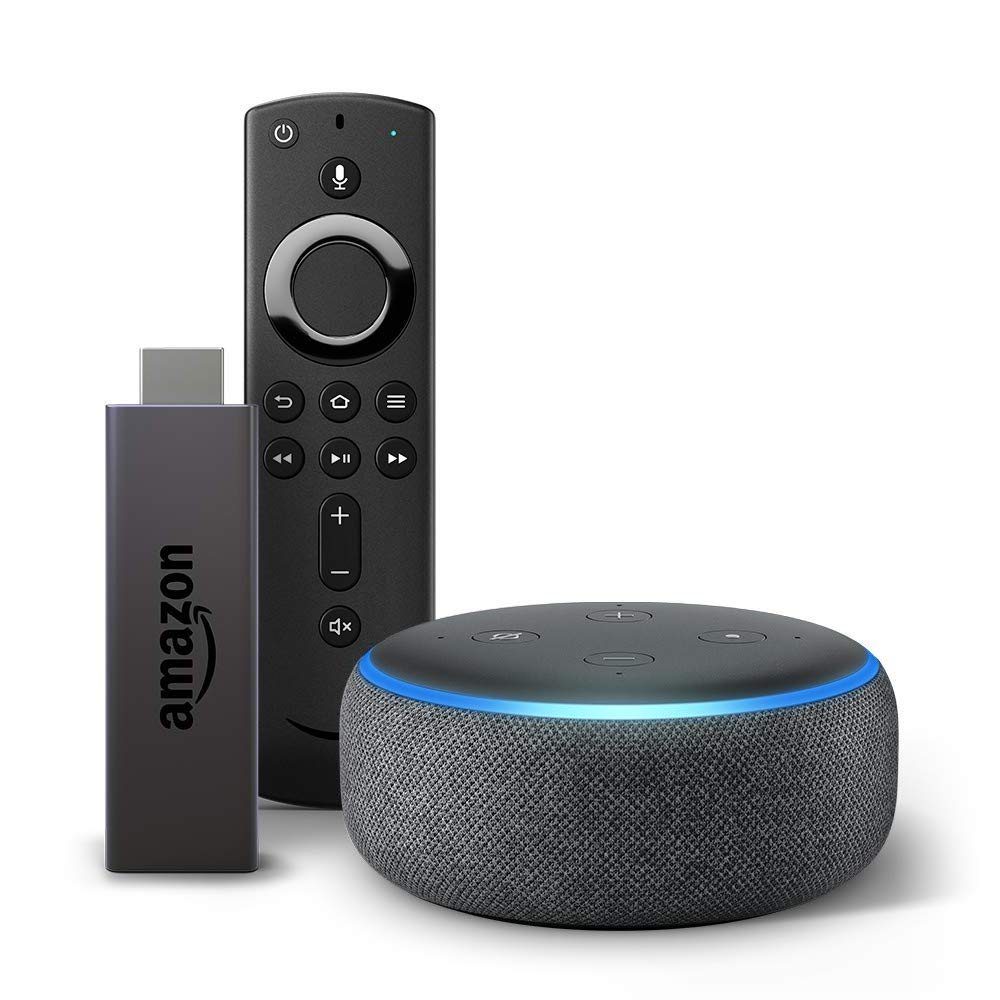 Amazon Fire Stick and Echo Dot Bundle best gifts for men 2019