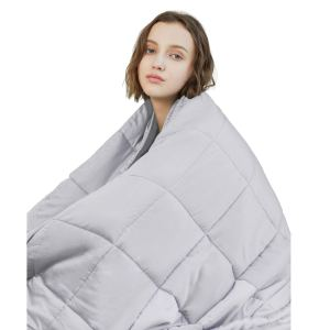 how to deal anxiety weighted blanket