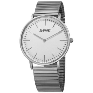Silver Watch Men's