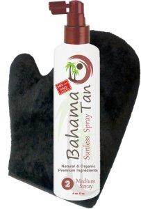 Bahama Tan Organic Self Tanning Spray & Tanning Mitt