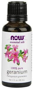best essential oils tighten geranium