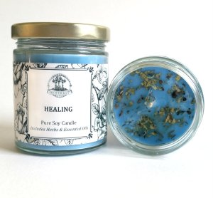 aromatherapy candles sick healing