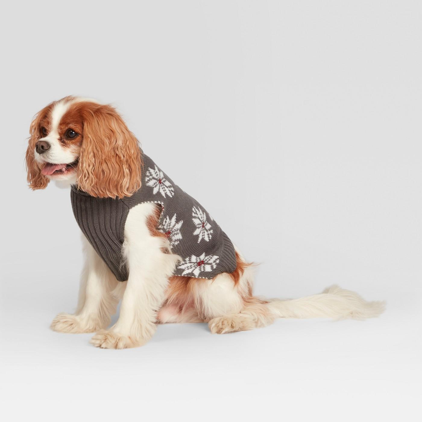 best holiday decor dog sweater