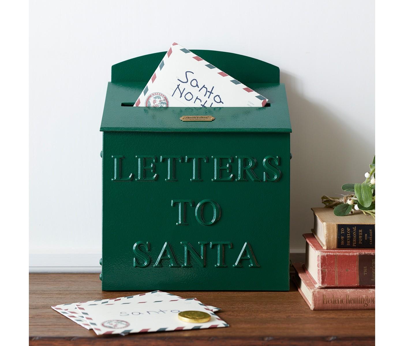 best holiday decor santa mailbox