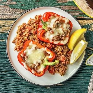 stuffed peppers meal from HelloFresh