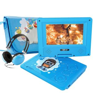 FUNAVO 7.5 Portable DVD Player with Headphone