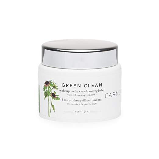 skin care routine green clean