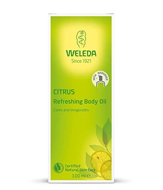 skin care routine weleda oil
