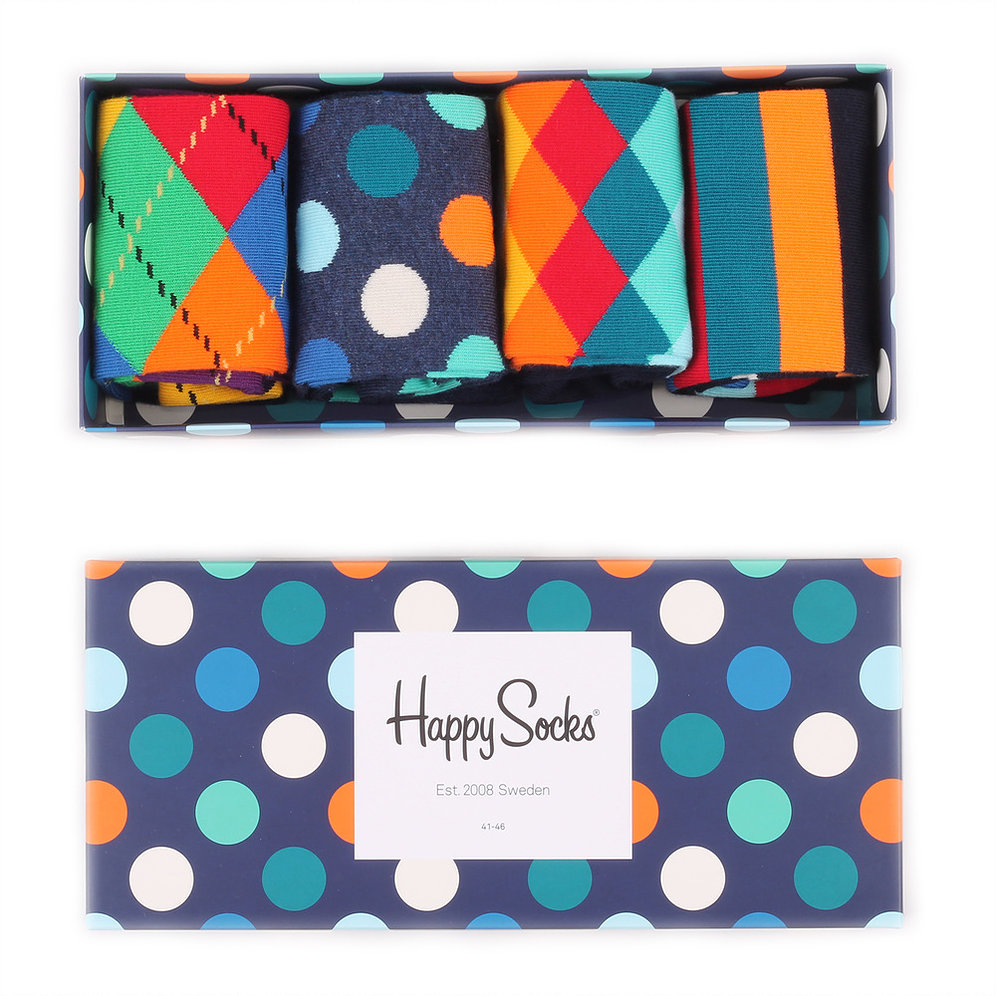 Happy Socks Mix Socks Gift Box for men