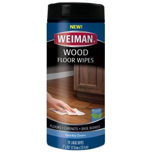 how to clean hardwood floors wipes
