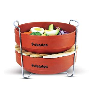 instant pot accessories stackable steamer