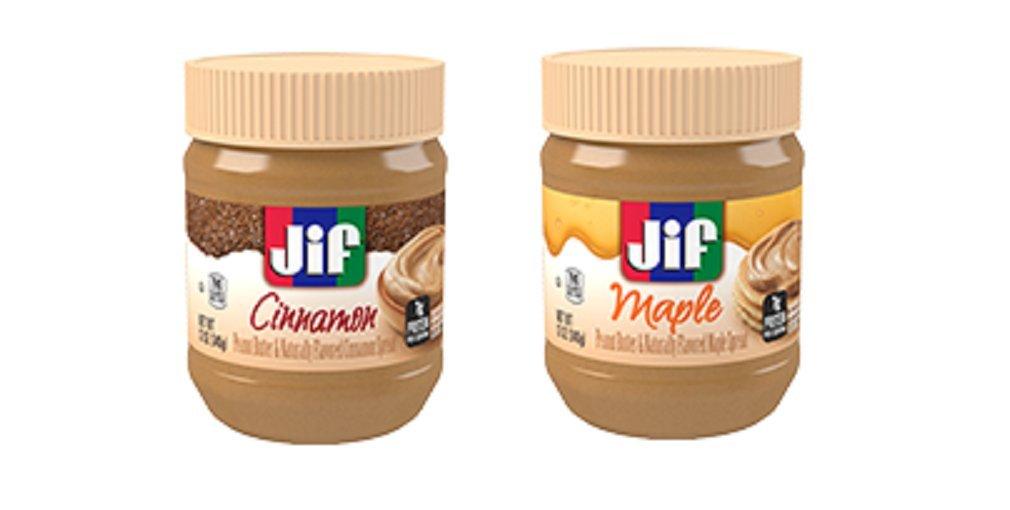 Jif flavored peanut butter