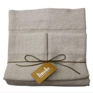 Linoto Luxurious 100% Pure Linen Bed Sheet