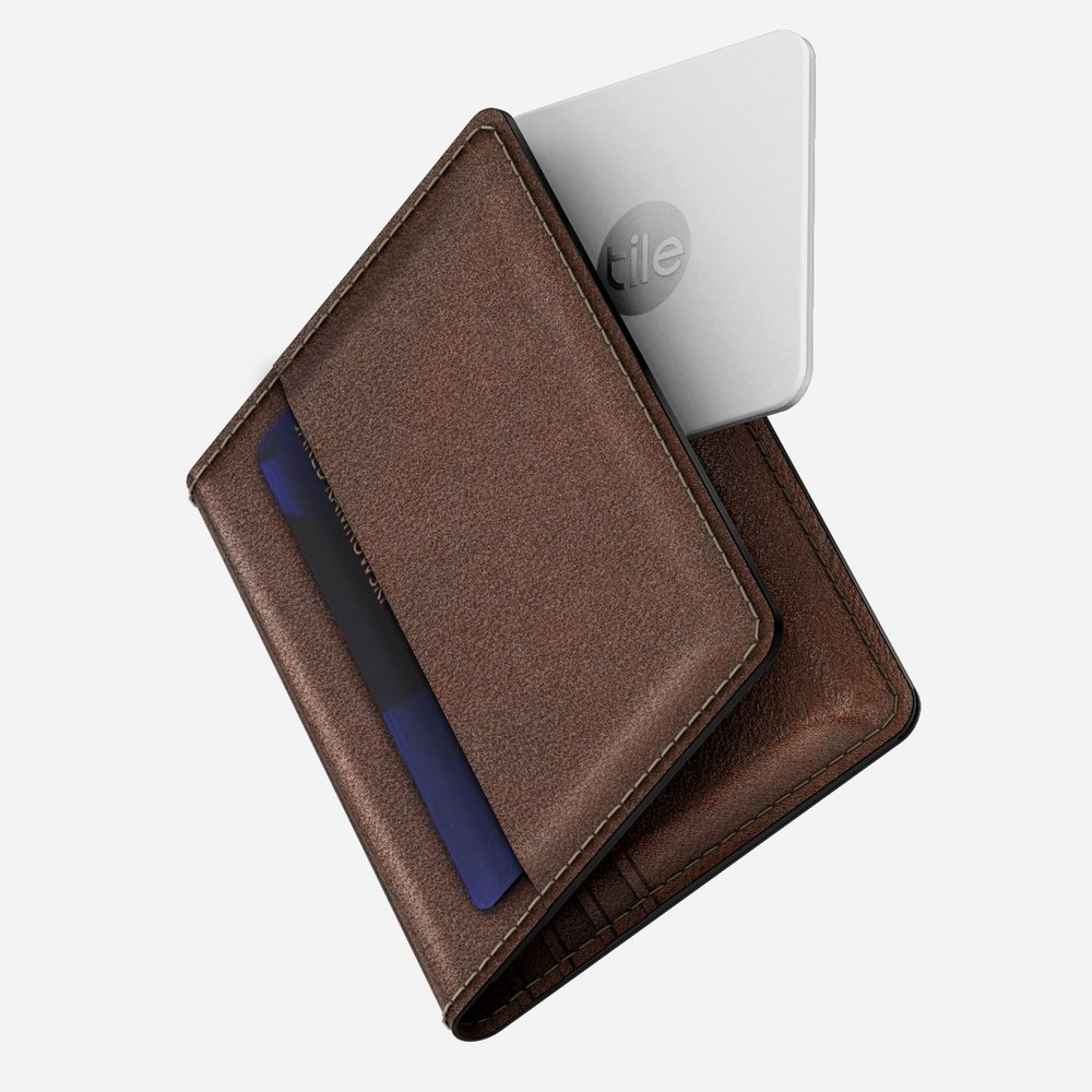 Nomad Slim Wallet With Tile Tracking, Best Wallets for Men