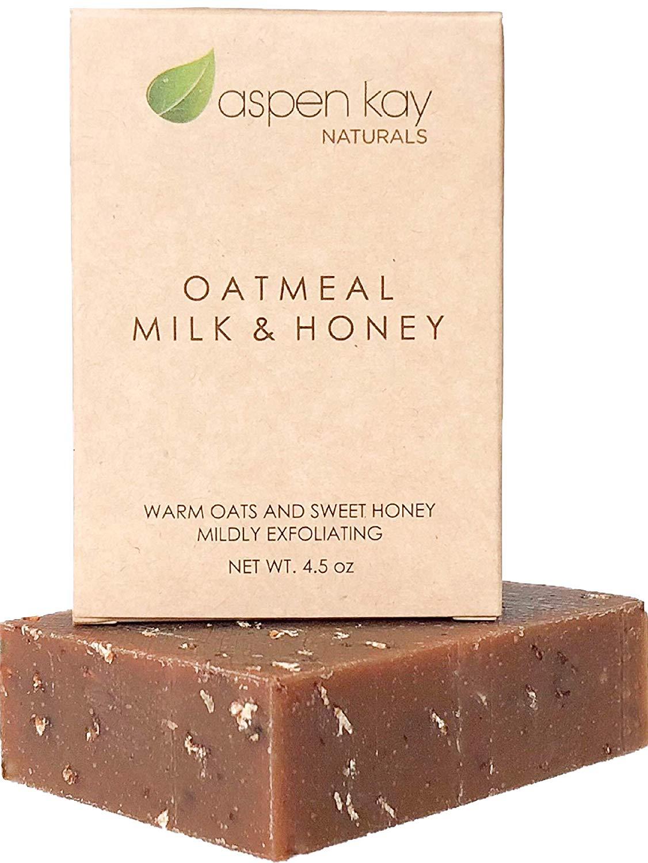 winter skin care oatmeal soap