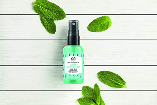 how to oily skin face mist