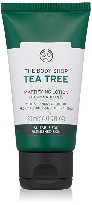 how to oily skin tea tree lotion