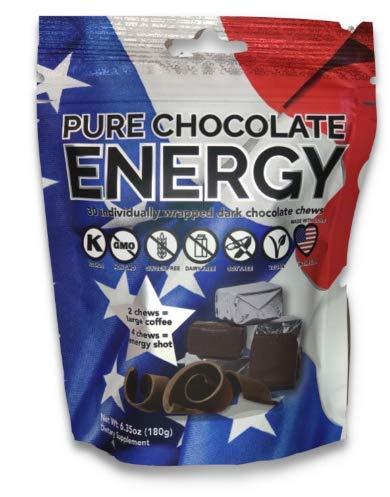 pure chocolate energy chews