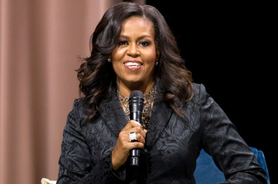 Michelle Obama Book Tour, Washington, USA - 25 Nov 2018