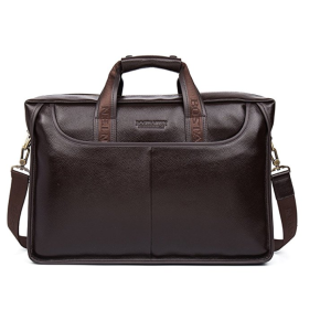 BOSTANTEN Leather Briefcase Laptop Handbag