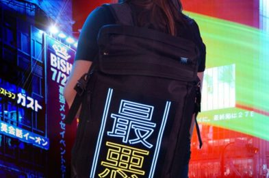 cyberpunk cybergoth backpack