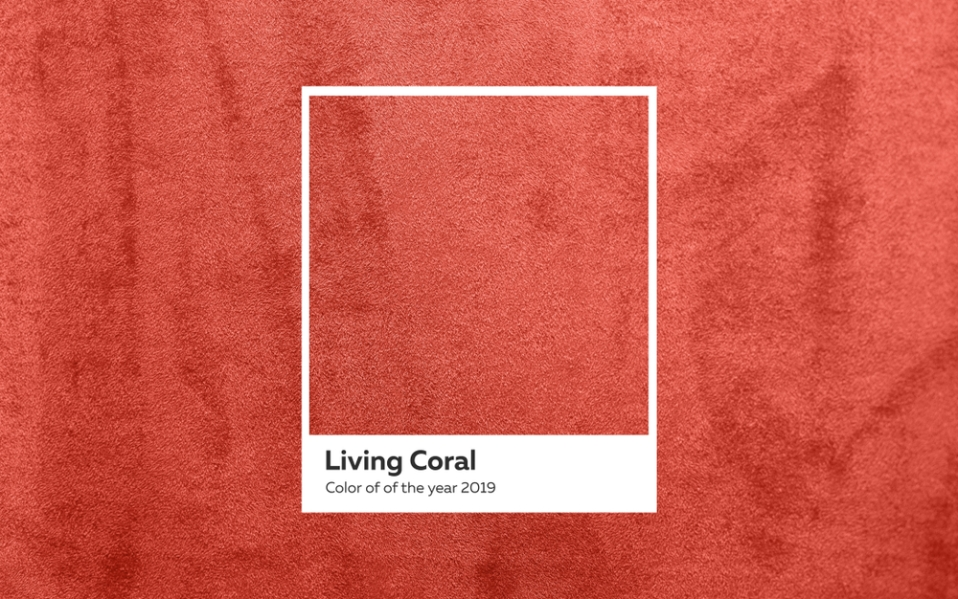 Best Living Coral Products Pantone