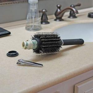 diversion safe hair brush