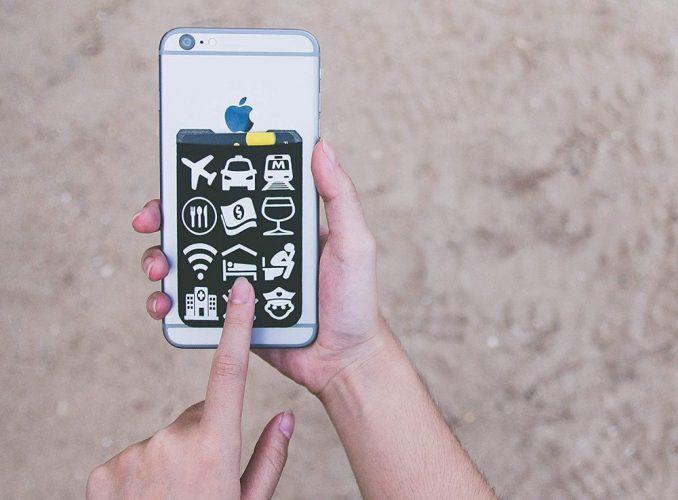 Portable Phone Wallet