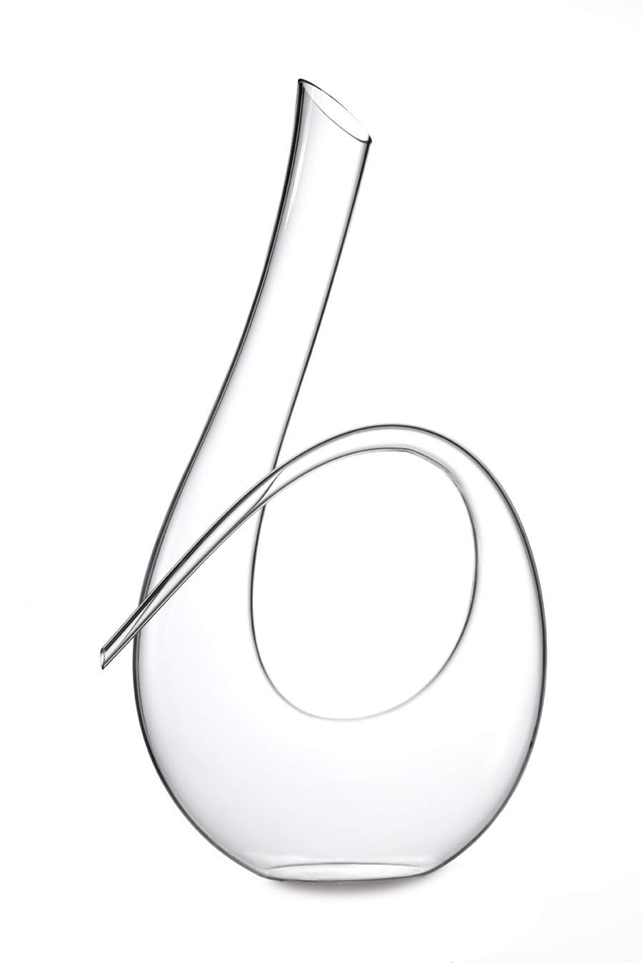 Twisted Horn Wine Decanter