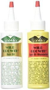 Wild Growth Hair Oil and Moisture Set Amazon