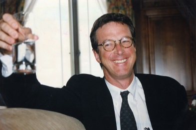 Writer Michael Crichton.