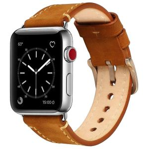 Leather Smart Watch Band
