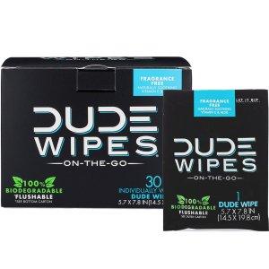 Travel Wipes Men's Dude
