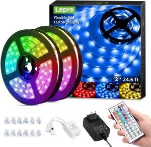 Lepro 50ft LED Strip Lights
