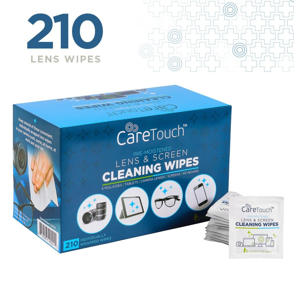 Care Touch Lens Cleaning Wipes