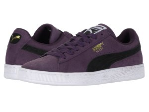 Purple Sneakers Puma Classics