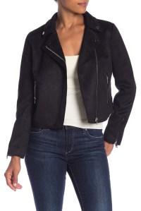 Black suede Jacket Women's