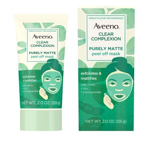 Aveeno Clear Complexion Pure Matte Peel Off Face Mask