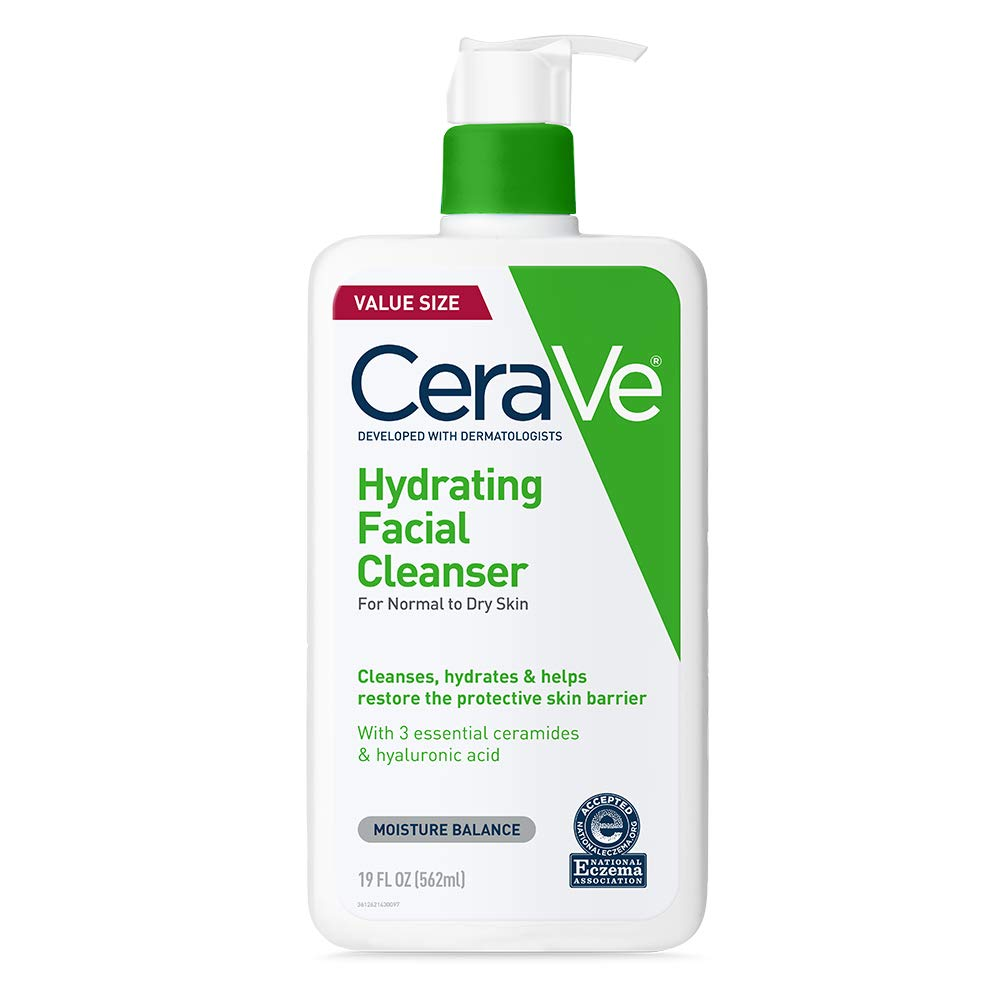 CeraVe Hydrating Facial Cleanser with Hyaluronic Acid