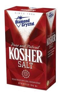 how to clean cast iron diamond crystal kosher salt