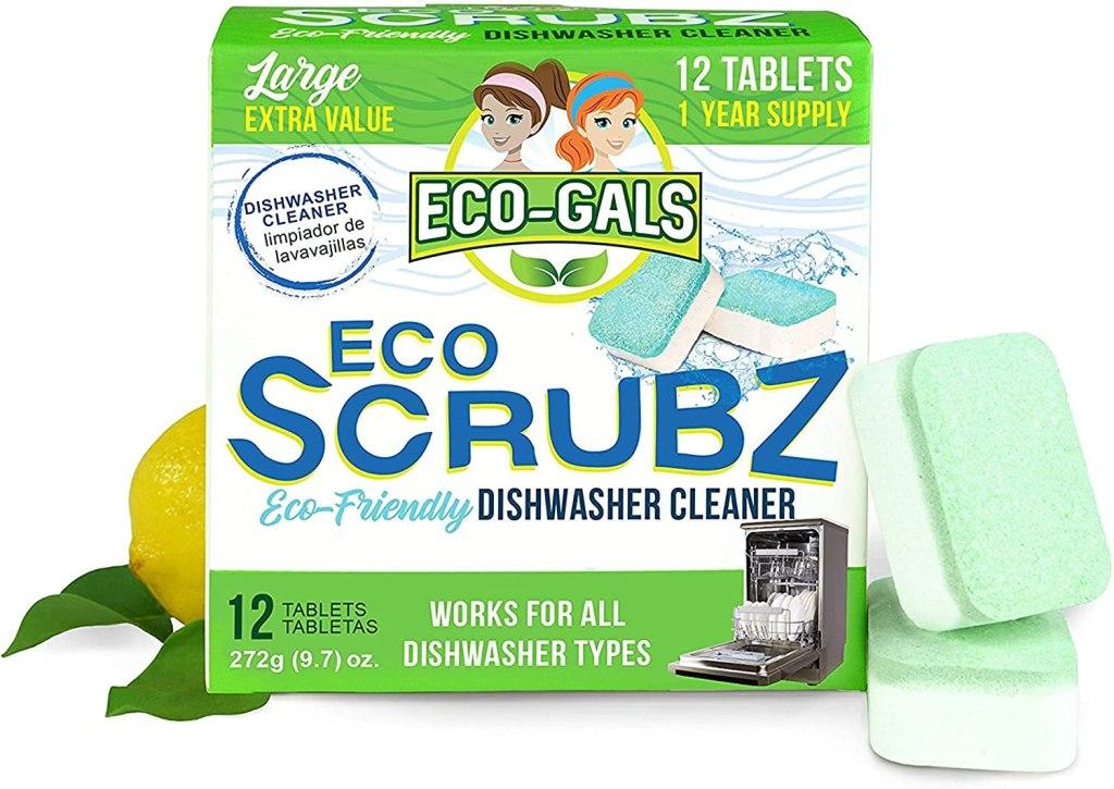 dishwasher cleaner eco gals scrubz