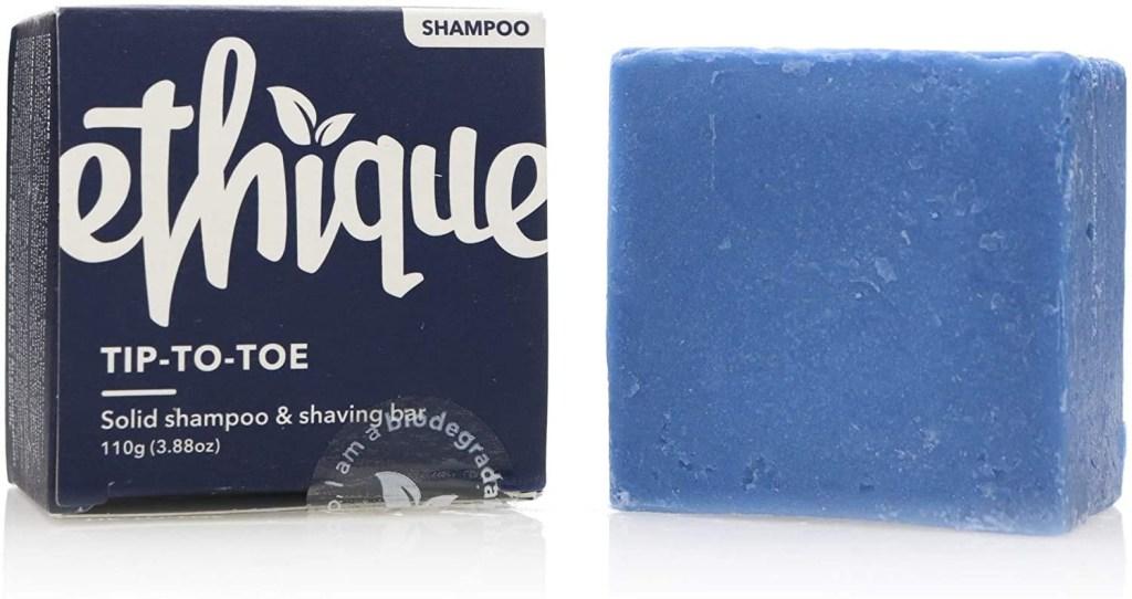 Ethique Shampoo and Shaving Bar