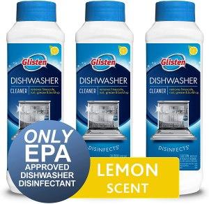 glisten dishwasher cleaner