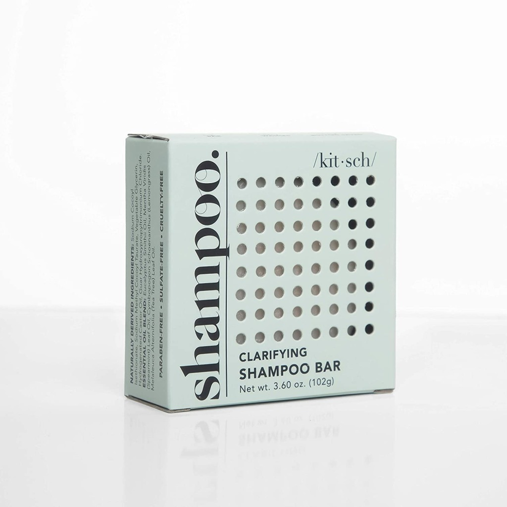 Kitsch Dandruff Clarifying 2 in 1 Shampoo and Shave Bar